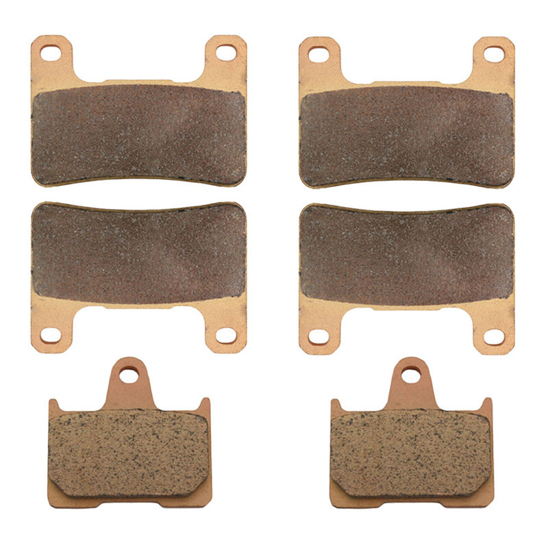 Motorcycle Parts Front &amp; Rear Brake Pads Kit For SUZUKI GSXR 1000 K4/K5/K6/ ZK4 Radial Caliper 2004-2006 Copper Based Sintered<br><br>Aliexpress