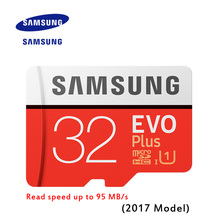 New Product 100% Original SAMSUNG EVO Memory Card Micro SD TF Card 32GB Class10 U1 Full HD Read speed up to 95 MB/s (2017 Model)