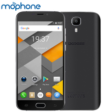 "DOOGEE X9 Mini Fingerprint Smartphone 3G MTK6580 Quad Core 5.0"" 1G+8G 5MP+5MP Camera Android 6.0 WiFi Smart Gesture Mobile Phone(China)"