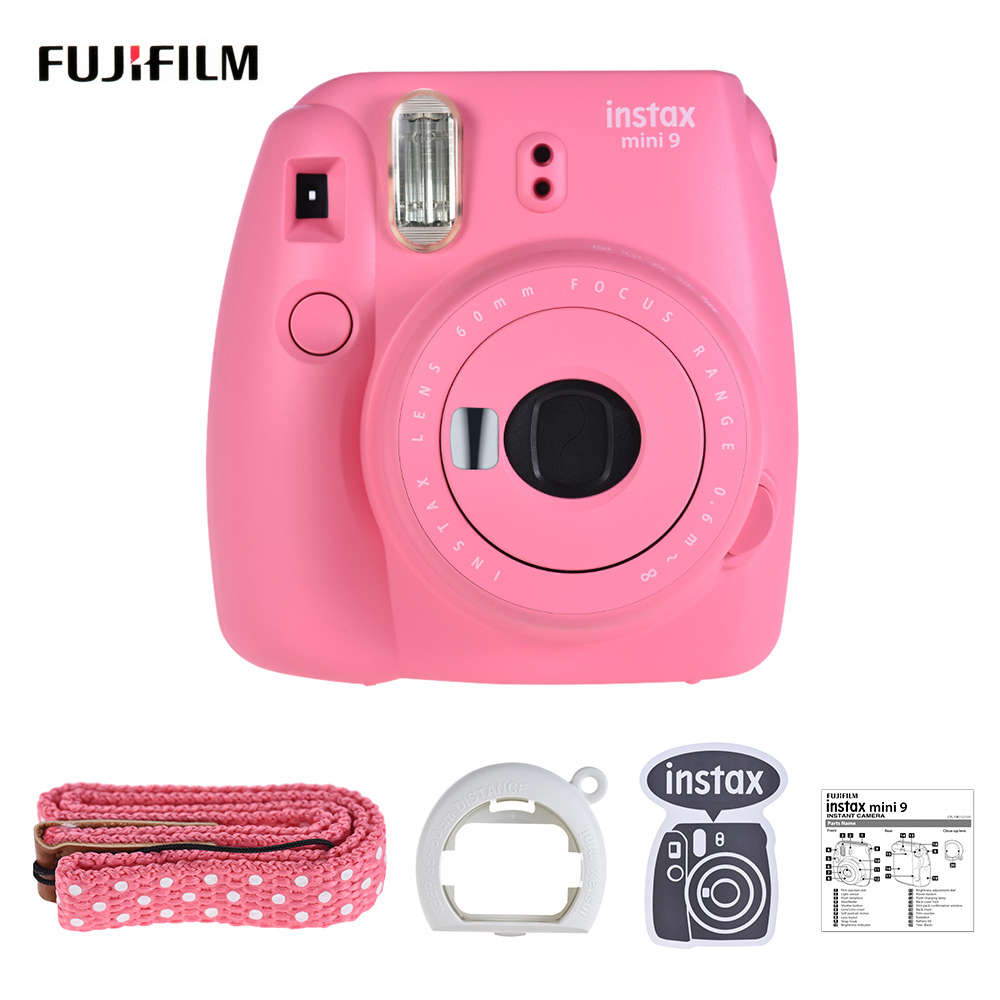 Fujifilm-Instax-Mini-9-Camera-Instant-Film-Camera-Cam-with-Selfie-Mirror-Green-Pink-White-Blue