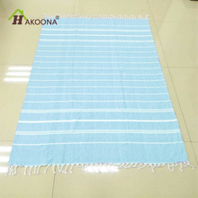 HAKOONA Turkish Hammam Peshtemal Pestemal %100 Cotton Bath Towel Gift Spa Gym Yoga Beach  100X180cm