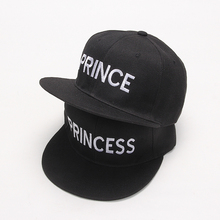 2017 new PRINCE PRINCESS Embroidery men women Snapback Hat Couple Baseball Cap Gifts For friendFashion Hip-hop Caps(China)