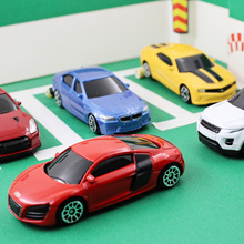1:64 multiple choices Alloy car model Audi R8 BM Land Rove Aurora Chevrolet Chevrolet Sports car SUV Children's toys ornaments(China)