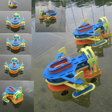 EVA puzzle DIY science toys puzzle science toys air power ships amphibious