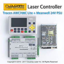 Trocen Anywells AWC708C Lite Co2 Laser Controller System + Meanwell 24V 3.2A 75W Switching Power Supply