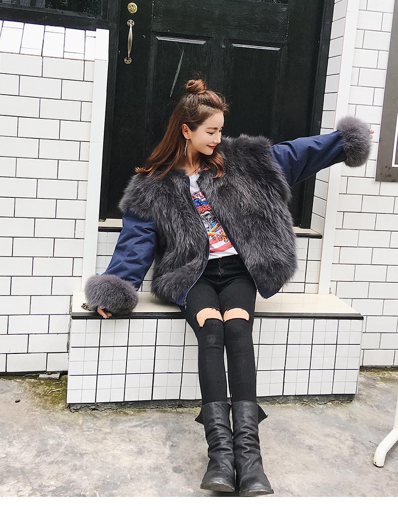 new styles fox fur jacket for women (13)