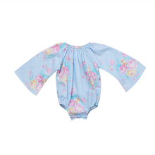 Sweet Baby Girls Clothing Bodysuits Newborn Baby Girls Floral Long Sleeve Bodysuit Jumpsuit Clothes Kid Lovely Fashion Outfit(China)