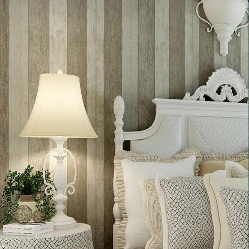 Beibehang  Retro Mediterranean Wooden Wallpaper  Living Room TV Backdrop 3d Wallpaper papel de parede wallpaper for walls 3 d<br>