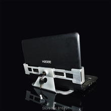 laptop store security display Laptop lock with key lap top metal display stand