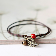2017 Fashion Leaf Ceramic Bracelets Simple Design Hand made Charm Bracelets for Women Men pulseras mujer