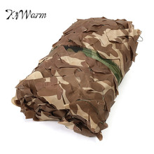 KiWarm Newest 5*1.5m Desert Digital Camo Net Military Camouflage Netting Games Camouflage Net Hunting Camping Hide Garden Cover
