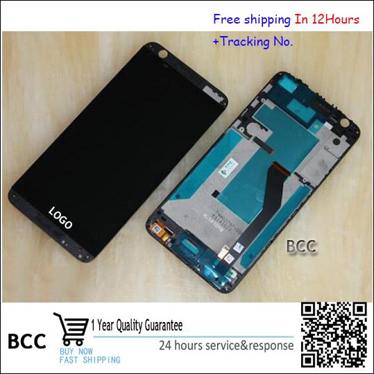 Original New LCD Display Touch Screen Digitizer with frame For HTC Desire 820 D820u 820Q Test ok+Track<br><br>Aliexpress