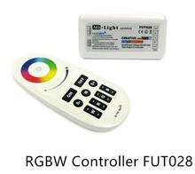 FUT028 DC12/24V 2.4G MI.Light Wireless touch panel color wheel RF RGBW Controller for RGB led strip light,1set/lot(China)