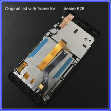 Original LCD Replacement For HTC Desire 626 LCD Display Touch Screen Digitizer With Frame Free Tools