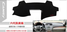 Car dashboard Avoid light pad Instrument platform desk cover Mats Carpets Auto accessories For Toyota Camry 2006-2016