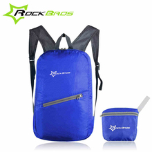 ROCKBROS Breathable Portable Folding Backpack Bag Cycling Waterproof Bicycle Bag Leisure Sports Bags Ultralight Bike Backpack