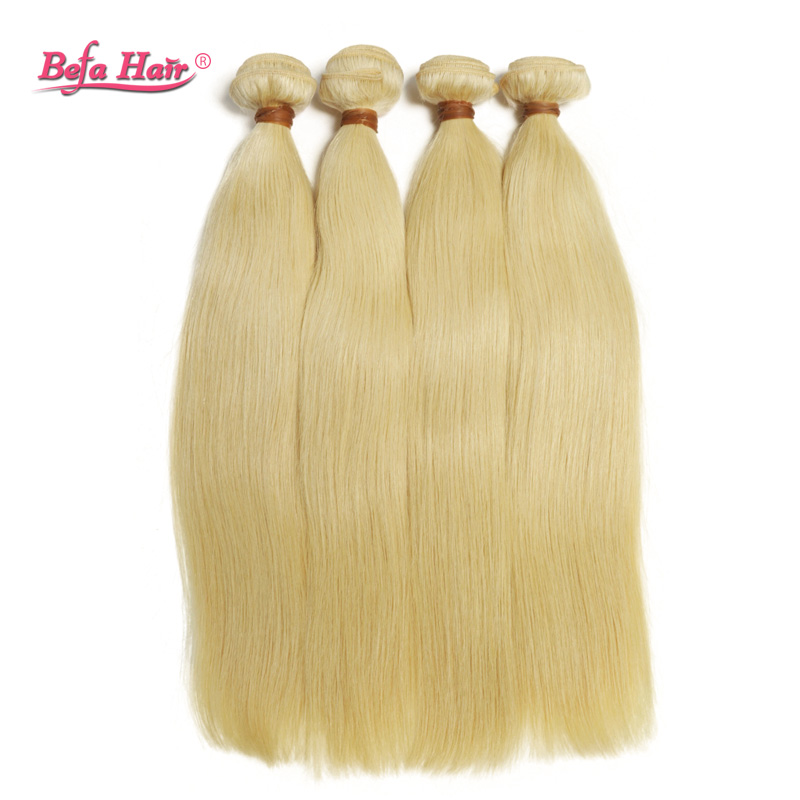 10pcs/ lots 613 # luxury 100g blonde human hair  Dyed grade 6A remy hair free shipping free shedding and tangle<br><br>Aliexpress