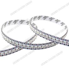 1M changeable color RGB led digital strip DC5V led riband 144leds/m 144IC/m built-in IC white/black PCB WS2812 led strip pixel(China)