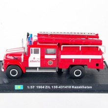 1/57 Fire Truck 1964 ZiL 130-431410 Kazakhstan Diecast Fire Truck Model(China)