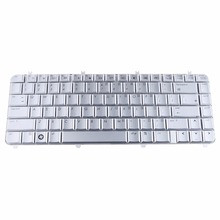 Notebook Computer Replacement Keyboards Fit For Hp Pavilion DV5 DV5-1000 Silver US Laptops Replacement Keyboards T20(China)
