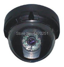 "Free Shipping 1/3"" Sony CCD 600TVL/700TVL 3-Axis Color Dome Camera 3.6/6/8mm Lens Optional - Mini Plastic Dome Camera"