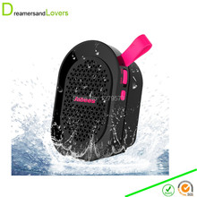 Wireless Bluetooth Speaker Outdoor Sport Shockproof Dust-proof Super Bass Stereo High-def Sound for iphone,Samsung Android Pink