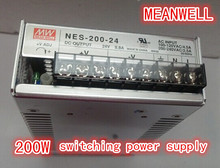 TAIWAN MEANWELL 200w switching power supply transformer NES-200 12v 24v 48v high quality power supply