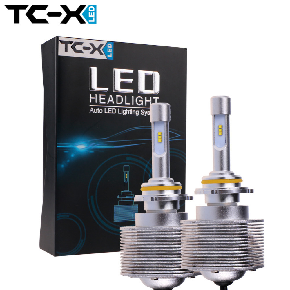 Newest 80w/set 6000K Super Bright HB4 9006 Car LED Headlight Bulb with Cree Chips High Power 12V  Play&amp;Plug Automobiles Headlamp<br><br>Aliexpress