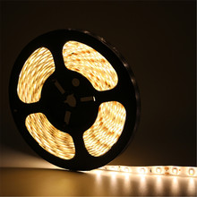5M/Roll DC12V Waterproof LED Strip light String Ribbon 5630 SMD Car Tape Lamp More Bright Than 3528 5050 For KTV Bar Home Decro