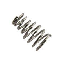 FLEOR 50pcs Tower Shape Electric Guitar Bass Bridge Springs Chrome Nickel Color 12x6.5-4.5mm Guitar Parts & Accessories(China)
