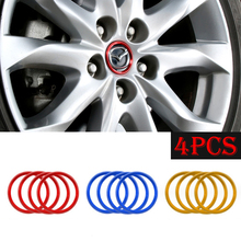 4 pcs/lot Ho New Refitting accessories For Mazda 6 Atenza CX-4 CX-5 mazda 3 Axela car styling(China)