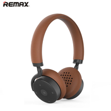 Remax 300HB Bluetooth V4.1 Headphone Headset Touch Control Wireless Stereo Earphone with Microphone Connect 2 Devices for Iphone(China)