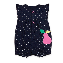 Buy Baby Girl Clothes 2017 Summer Baby Rompers Flower Baby Girls Dress Newborn Baby Clothes Cotton Infant Jumpsuits Kids Clothing for $7.10 in AliExpress store