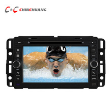 Car DVD Player for GMC Tahoe/Chevrolet with GPS Navi Radio Ipod USB SD BT, Support 3G Wifi Virtual 10-Discs+Free 8G Map Card