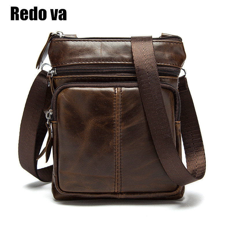 Genuine Leather Mens Messenger Bags Promotional Casual Business Man Bags Shoulder Bag Briefcase Famous Brand Classic Design<br><br>Aliexpress