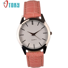 OTOKY Fashion Casual Mens Watches Top Brand Luxury Leather Business Quartz-Watch Men Wristwatch Relogio Masculino #40 Gift 1pc