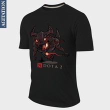 Designer T-shirt Tops Tees Summer Style Short Jersey Dota Dota2 Nevermore Shadow Fiend SF Ancients Game Printed Custom(China)