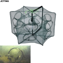 1 PCS Fishing Net Crawfish Mesh Net Trap Crawded Casting Shrimp Cast Dip  Fish Net Minnow for Lobster Crab Fish Trap Cages