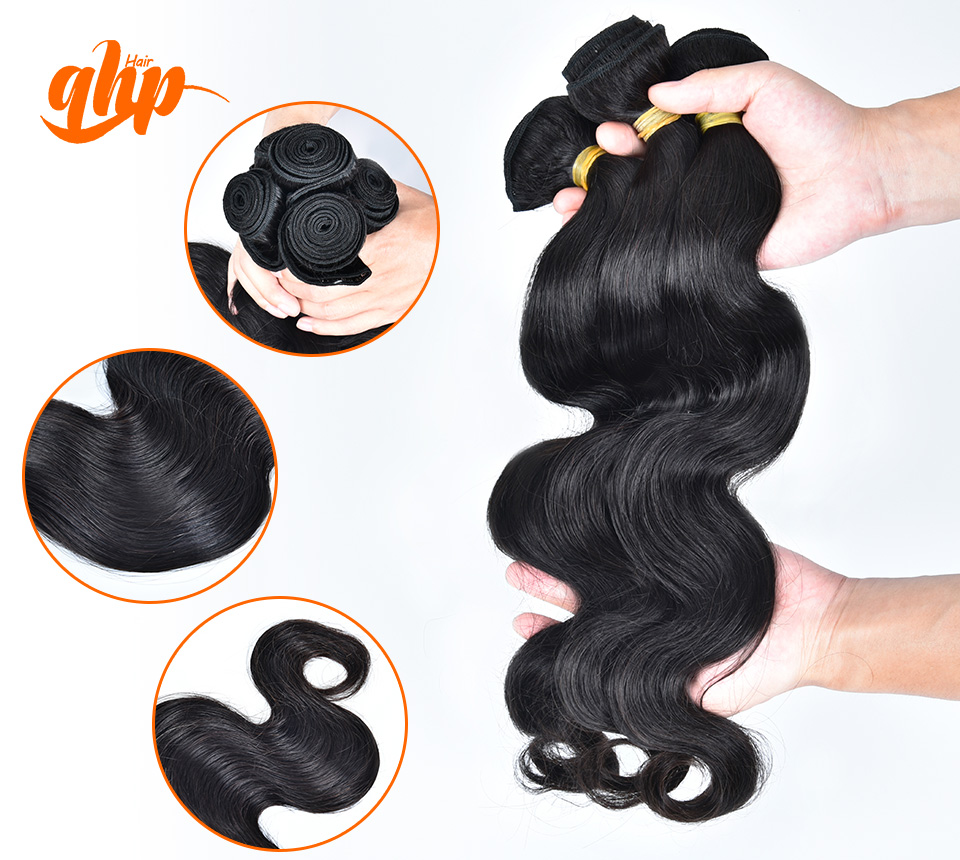 Daliy Fashion Malaysian Body Wave 3pcs Weave Bundles Human Virgin 5A Hair Extension Wavy Curly Cheap Price Ali Queen Products<br><br>Aliexpress