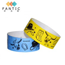 Good sale 200pcs no logo single use disposable wristband tag,one time wristband custom paper event wristbands,wristband tag(China)