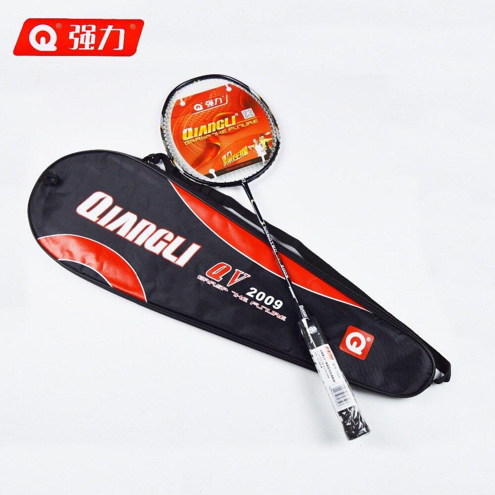 Authentic Qiangli2009 Ultralight 5U nanotechnology badminton racket badminton raquette badminton badminton rackets