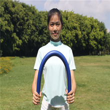 New Hot Golf Flex Strength Rhythm Practice Whip Swing Trainer Training Aid Blue(China)