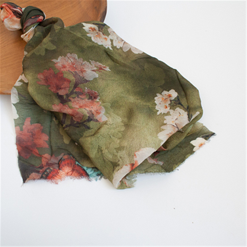 Fashion Newborn Baby Photography Props Floral Wrap Blanket Decorative Baby Shooting Flower Mat Retro Infant Photo Accessories 18