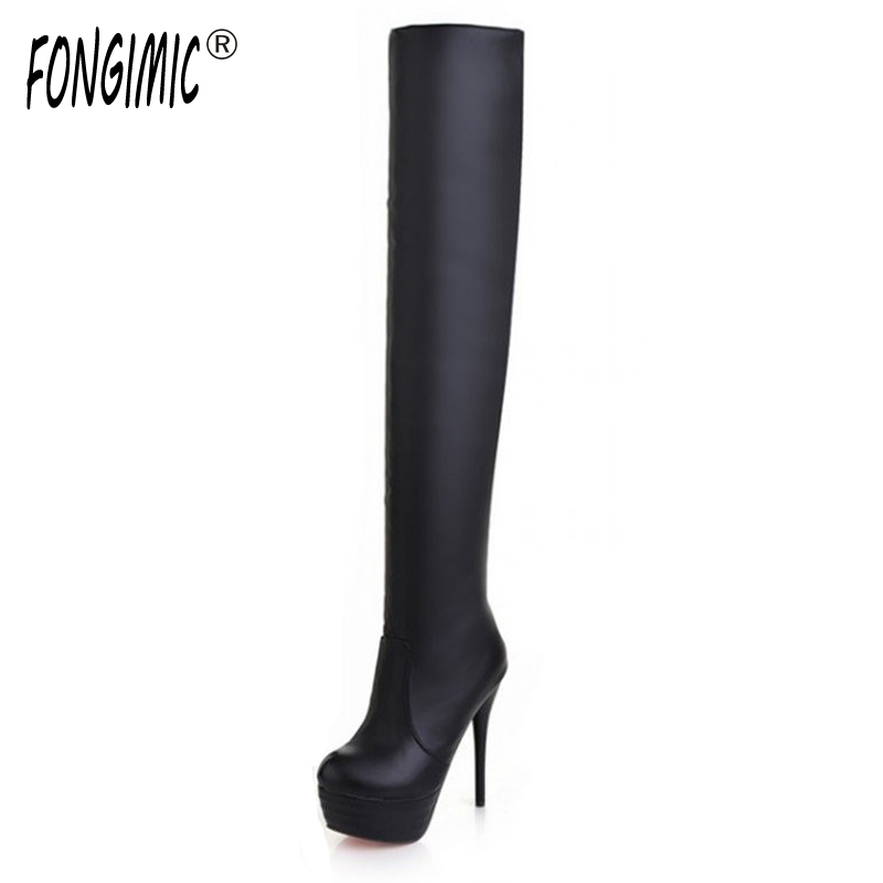 2016 new autumn winter women fashion Knight boots special offer over the knee warm boots Markedly thin high heeled boots<br>