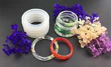 Soft Silicone Jewerly Mould Epoxy Bracelet Bangle Mold Hand Resin Craft Jewelry Making Mold