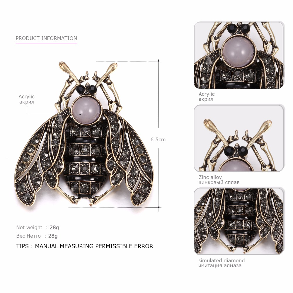 eManco-Wholesale-Vintage-Bee-Shape-Cicada-Brooches-Pins-for-Women-Crystal-Brooch-Clothing-Accessories-2018-Fashion (3)
