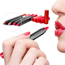 New Fashion Lipsticks Pen Lip Pencil Lipstick Lasting Waterproof Non-stick Cup Makeup High Recommend