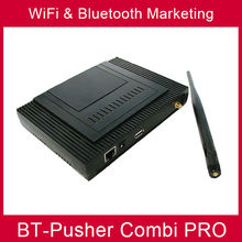 Bluetooth promotion message broadcasting pusher wifi proximity advertising marketing device BT-Pusher COMBI PRO WITH car charger