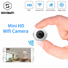 Mini Camera Wifi IP HD Nachtzicht 720 p Camcorder Android Outdoor DVR DV 140 graden Groothoek Bewegingsdetectie draagbare Cam(China)