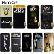 MaiYaCa guitar amp marshall DIY Painted Phone Accessories Case for samsung galaxy s8 s7 edge s6 edge plus s5 s4 s3 case(China)